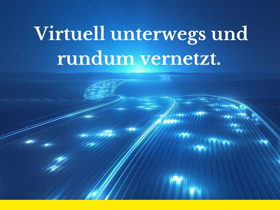 virtuell unterwegs