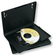 Fellowes DVD-Leerhüllen schwarz, 5 St.