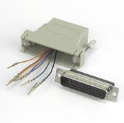 Adapter Modular, DB25/m-RJ45 8P/8C