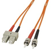 LWL-Kabel 62.5/125 µm dupl. ST/SC, 15 m