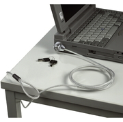 Notebookschloss Standard, 4,5mm, silber