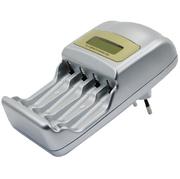 Akku Schnell-Ladegerät für 4 x AA/AAA