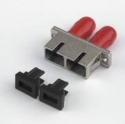 Stecker Fiber-Kupplung ST/SC Duplex