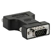 Adapter Monitor DVI-A/f zu VGA DB15HD/m