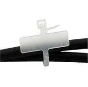 Kabelmarker 100 Stk.,naturfarbig,25x8mm