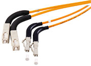 LWL-Kabel 50/125 µm dupl. LC/SC,2 m abgw