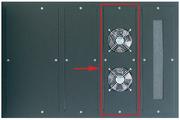 Lüftermodul für 800 mm Schrankbreite
