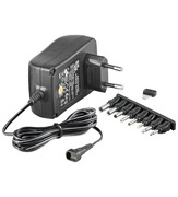 ARP Netzteil 3-12V DC, 2,25A, 8 Plugs