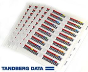 Tandberg LTO Ultrium 5 Barcode Labels
