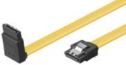 Kabel SATA III, 90° abgewinkelt, 0,5 m