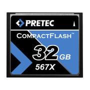 Pretec CF Card 567x 32 GB