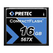 Pretec CF Card 567x 16 GB