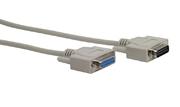 Verbindungskabel Sub-D-Kabel 15p m/f 2m