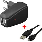 ARP USB Ladegerät 2,0 A + micro USB 1,8m
