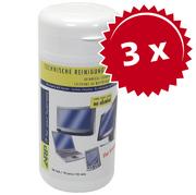 3xGerätereiniger 100 TFT-Reinigungstüche