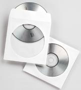Fellowes CD-/DVD Papierhüllen, 50 Stück