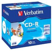 Verbatim CD-R80/700 52x Inkjet JC(10)