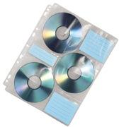 Hama Hüllen mit Index für 60 CDs/DVDs
