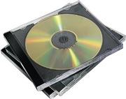Fellowes CD-Hüllen schwarz, 10 St.