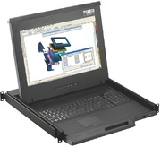 Austin Single Slide KVM 8 port, 8 CE-Kab