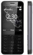 Nokia 230 DS Mobiltelefon Dark Silver