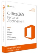 MS Office 365 Personal 1YR Eurozone P2
