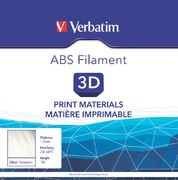 Verbatim Filament ABS transparent