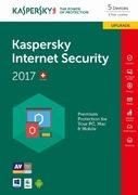 Kaspersky Internet Sec. 2017 Upgr. 5 PC