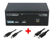 ARP KVM-Switch 1:2 USB, Dual DisplayPort