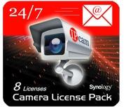 Synology 8er Pack NAS Kamera Lizenzen