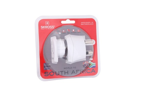 adapt skross travel afrique du sud ue c bles. Black Bedroom Furniture Sets. Home Design Ideas
