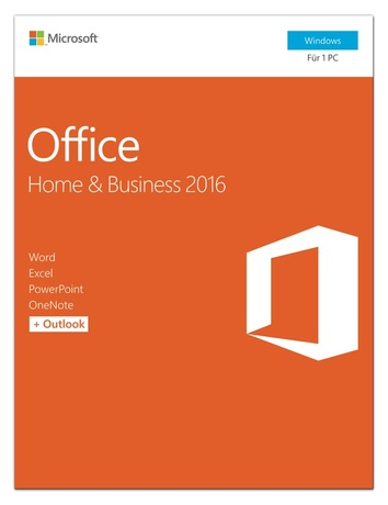 Microsoft Office Home & Business 2016 P2 Detailansicht 1