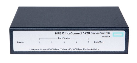 HPE OfficeConnect 1420 5G-Switch Detailansicht 1