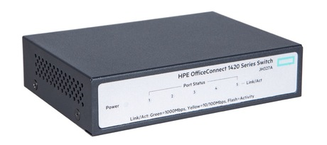 HPE OfficeConnect 1420 5G-Switch Detailansicht 2