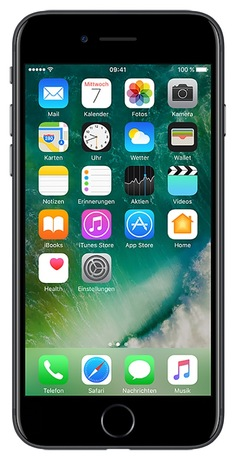 Apple iPhone 7 128 GB schwarz