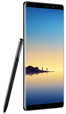 Samsung Galaxy Note8 Duos Midnight Black