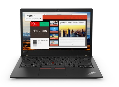 Lenovo ThinkPad T480s 20L7-001L Top