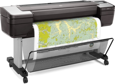 hp designjet t1700 a0 plotter drucker. Black Bedroom Furniture Sets. Home Design Ideas